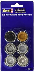 Revell - 32344 - Accessoire Pour Maquette - Couleurs Autos 6 Pots