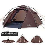 Slumit CUB 2 Instant Tent 2 Man Waterproof Double Layer FlashFrame Quick Pitch