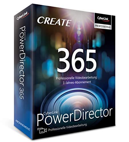CyberLink PowerDirector 365 / 12 Monate (64-Bit)