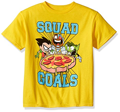 Teen Titans Go! Boy's Go Squad Goals T-Shirt