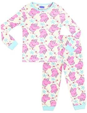 Peppa Wutz Mädchen Peppa Pig Schlafanzug - Slim Fit