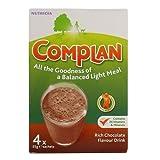 Complan Rich Chocolate Flavour Drink, 4 x 55 g sachest