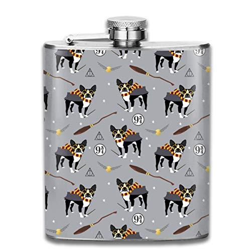 ahl, Motiv: Boston Terrier Hexe Zauberer Hund ()