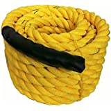 "Hard Bodies Gym Battle Rope ( 2.25 "" Thick / 50 Feet Exercise Rope)"
