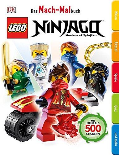 Preisvergleich Produktbild Das Mach-Malbuch. LEGO® Ninjago