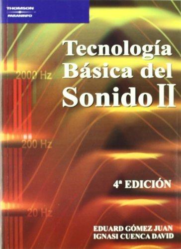 Tecnología básica del sonido II por IGNASI CUENCA DAVID