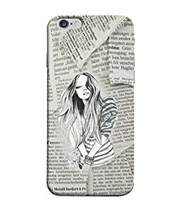 FUSON Designer Back Case Cover for Apple iPhone 6 (Family Friends Happiness Together Sister )