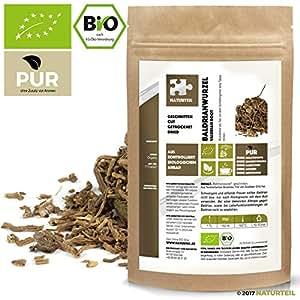 100 g Baldrian-Wurzel Geschnitten Bio - Im Aromadichten & Wiederverschließbaren Beutel - Naturteil