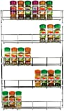 Andrew James 5 Tier Spice / Herb Rack Wall Mountable or Kitchen Cupboard Storage