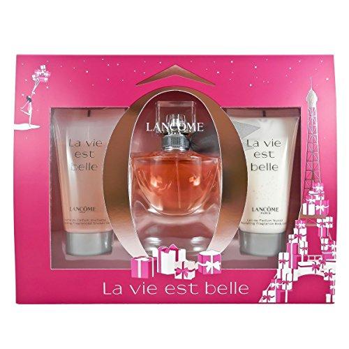 Lancôme La Vie Est Belle femme Geschenkset, 1er Pack (Eau de Parfum 30 ml, Körperlotion 50 ml, Duschgel 50 ml) (Lancome-duft-set)