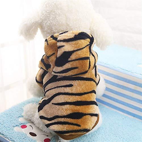 100 Hunde Pfund Kostüm - LovelyPet Herbst Winter Haustier Produkte Hund Kleidung Haustiere Mäntel Weiche Baumwolle Welpen Hund Kleidung Kleidung for Hund Tiger Kostüm XS-2XL (Size : XL)