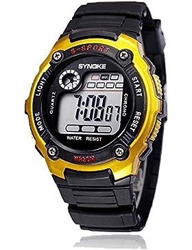 Children 's wasserdicht electronic watch student luminous chronographen sport-E