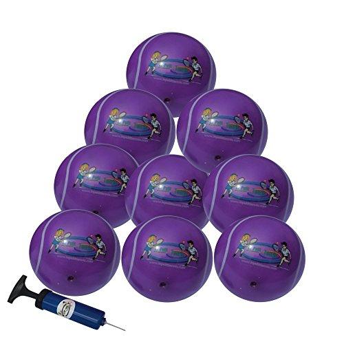 Meine erste Tennisball Galaxy Veilchen–Pack 50Tennisbälle aufblasbaren für Kinder–Le Petit Tennis