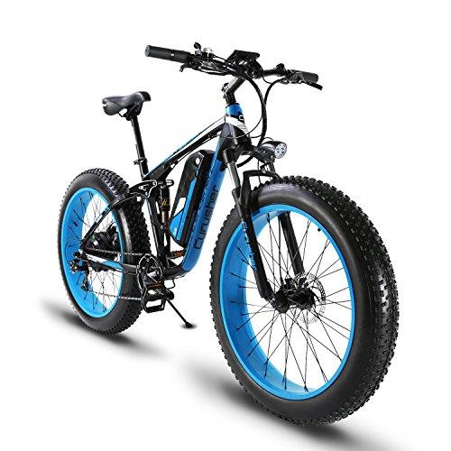 51HYjGNjh1L. SS500  - Extrbici XF800 1000W 48V13AH Electric Mountain Bike Full Suspension