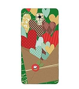 PrintVisa Designer Back Case Cover for Gionee M6 Plus (tops she he wedding card)