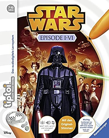tiptoi® Star Wars™ Episode I-VI (Malen Nach Zahlen Star Wars)