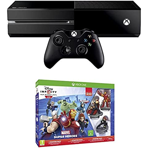 Xbox One Console With Disney Infinity 2.0 Marvel Superheroes Starter Pack [Importación Inglesa]