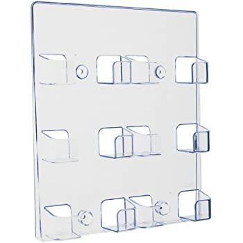 Deflect O Visitenkartenhalter 6 Fächer Wandhängend