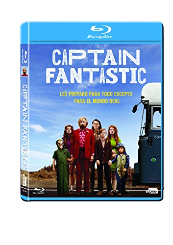 Captain Fantastic Blu-Ray [Blu-ray]
