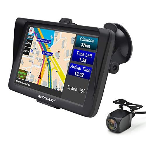 GPS Auto 7 Pouces Système de Navigation Automatique à...