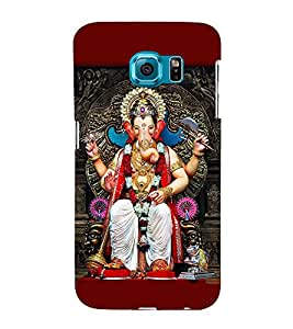 FUSON Lord Lalbagh Cha Raja 3D Hard Polycarbonate Designer Back Case Cover for Samsung Galaxy S6 G920I :: Samsung Galaxy S6 G9200 G9208 G9208/Ss G9209 G920A G920F G920Fd G920S G920T