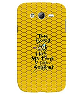 PRINTVISA Quotes Life Case Cover for Samsung Galaxy Grand 2
