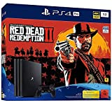 PS4: PlayStation 4 Pro - Konsole( 1TB, schwarz) inkl. Red Dead Redemption 2 + 1 DualSchock Controller