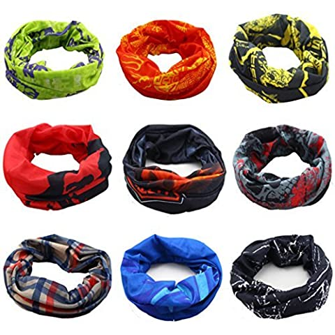 Zhengdu Outdoor Multifunctional Sports Magic Scarf, High Elastic Magic Headband with Uv Resistance, Head scarves, Headbands