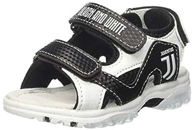 Juventus (Kids Shoes) Jungen S19022/AZ Peeptoe Sandalen, Schwarz (Nero 110), 27 EU