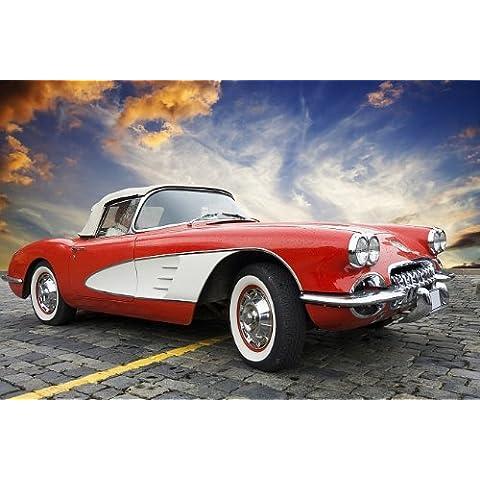 Startonight notte vivida tela Chevrolet Corvette Classic