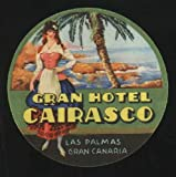 Etiqueta Hotel Antigua - GRAN HOTEL CAIRASCO - Las Palmas de Gran Canaria