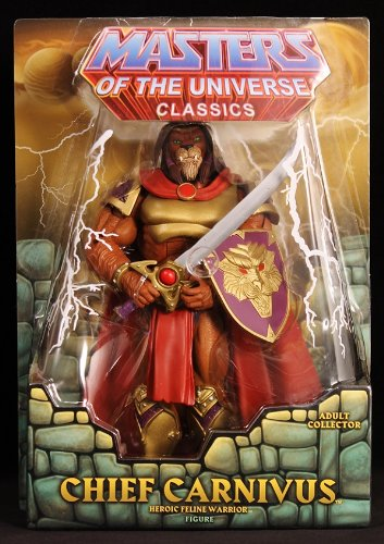 MATTEL HE-MAN MOTUC MOTU MASTERS OF THE UNIVERSE CLASSICS CHIEF CARNIVUS