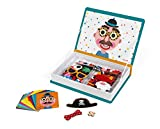 Janod Magneti'Book Crazy Faces juguete educativo, Niños (J02716)