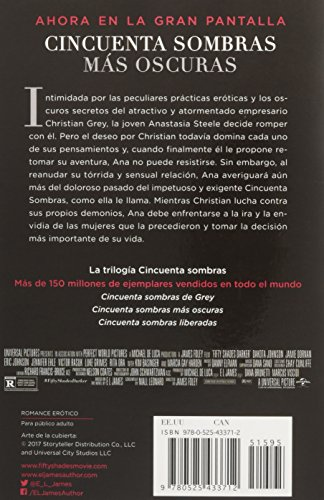 Cincuenta Sombras Más Oscuras (Movie Tie-In): Fifty Shades Darker Mti - Spanish-Language Edition