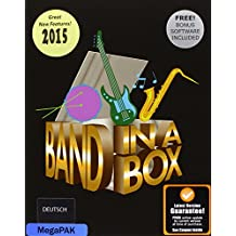 Band-in-a-Box Realband 2015  MegaPAK MAC, dt.