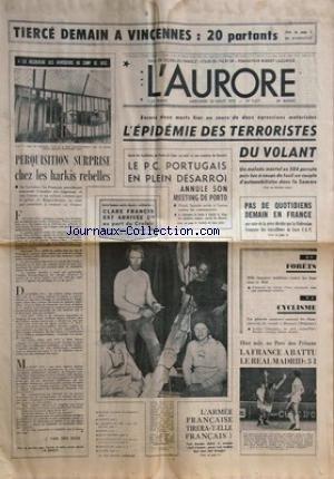 AURORE (L') [No 9627] du 20/08/1975 ...