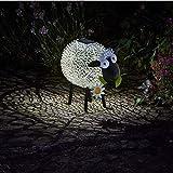 Garden Mile solar betrieben Aufleuchtend LED Giraffe klicken Kupfer Optik Metall Garten Tiere Skulpturen umwerfend Vielseitige Garten Dekoration decoration - Sheep