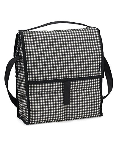 Packit Borsa Termica, Multicolore (Surf Stripe) Bianco/Nero (Gingham)