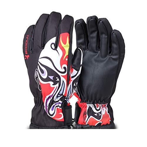 Coniea Sport Handschuhe Herren Fitness Handschuhe Fahrrad Winter Stil 2 Small