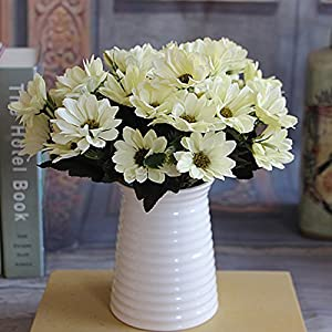 ASTrade 1 Manojo de Flores Falsas Vintage Artificial Peony Flores de Seda Ramo para la Boda Boda decoración del hogar…