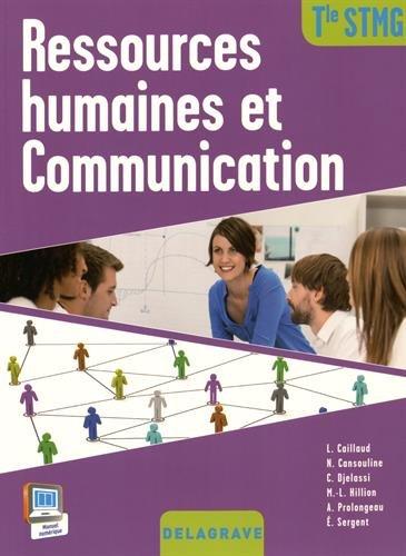 Ressources humaines et communication terminale STMG : Livre de l'élève