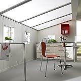 Avanti Aqua Wandpaneel und Deckenpaneel für Feuchträume Uni Weiß 1190 x 199 x 10 mm