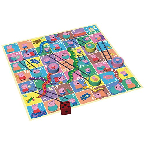 Image of Peppa Pig Giant Snakes and Ladders Game