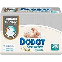 Dodot Sensitive Toallitas para Bebé - 3 paquetes de 2 x 54 toallitas - Total: