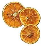 Marianne 50g Orangenscheiben getrocknet ca. 15 Stk. Deko Streuteile Weihnachten Apfelsinenscheiben echt duftend Kerzen gestalten