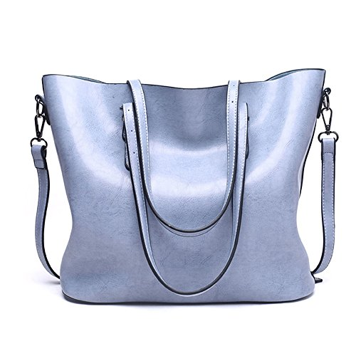 Anne, Borsa tote donna nero Red Wine Light Blue
