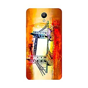 Skintice Designer Back Cover with direct 3D sublimation printing for Redmi Note 2
