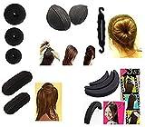 Majik Hair Accessories Combo Of 11 Pcs
