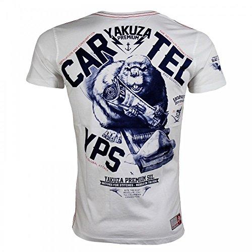 Yakuza Premium 2219 T-Shirt Weiß