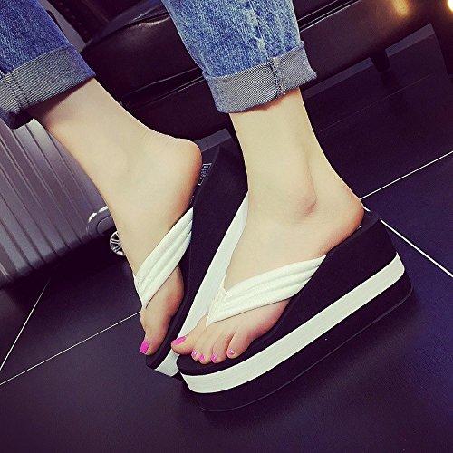 spesse b le flop suole lady FLYRCX Estate pantofole piedi flip per antiscivolo 4C8ZPx
